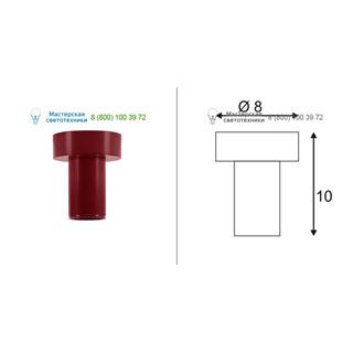 132648 SLV by Marbel FITU CL светильник потолочный для лампы E27 60Вт макс., бордовый RAL3005