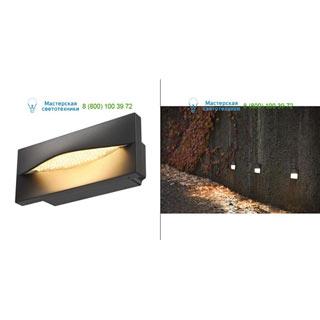233635 SLV by Marbel ADI LED светильник встраиваемый IP55 c LED 15.4Вт (17.4Вт), 3000К, 870лм, антрацит