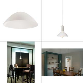 1001959 SLV by Marbel FITU 17, абажур на лампу, диам. 17 см, белый