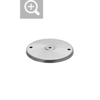 1001963 SLV by Marbel NAUTILUS 10 SPOT LED, пластина монтажная, сталь