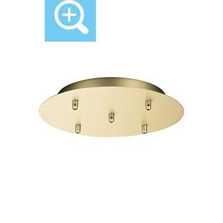 1002165 SLV by Marbel FITU, основание круглое 5х, латунь