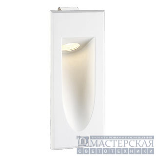 LED DOWNUNDER MINI recessed wall luminaire, white, 1W, warmwhite, 3000K