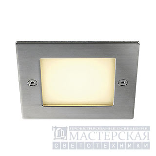 FRAME OUTDOOR 16 LED recessed, square, stainless steel, warmwhite