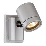 NEW MYRA WALL luminaire, silvergrey, GU10, max. 50W, IP55