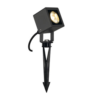 231035 NAUTILUS SQUARE LED Strahler, eckig, anthrazit, 6W, 3000K, SLV