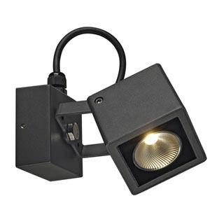 231045 NAUTILUS SQUARE LED Wandleuchte, eckig, anthrazit, 6W, 3000K, SLV