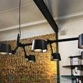 Bolt Tonone L99cm, H9cm подвесной светильник 1170-black aluminium