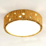 CL0033.GI Vaughan Jupiter Flush потолочный светильник