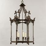 CL0058.BZ Vaughan Repton Hall Lantern потолочный светильник