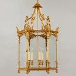 CL0058.GI Vaughan Repton Hall Lantern потолочный светильник
