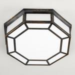 CL0109.BZ Vaughan Hunton Octagonal Flush C/L Large потолочный светильник