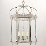 CL0117.NI Vaughan Wilton Hall Lantern потолочный светильник