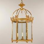 CL0121.GI Vaughan Rousham Hall Lantern потолочный светильник