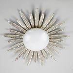 CL0161.SI Vaughan Sunburst Flush потолочный светильник