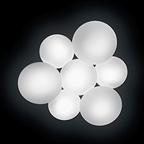 5446 Vibia PUCK потолочный светильник